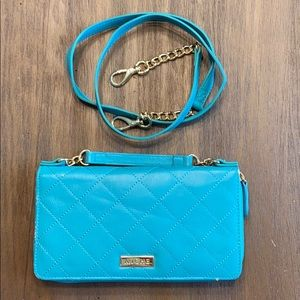 Miche Turquoise crossbody/wristlet